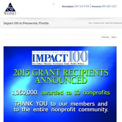 Impact 100 in Pensacola, Florida