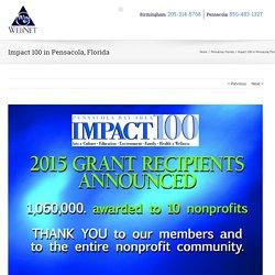 Impact 100 in Pensacola, Florida