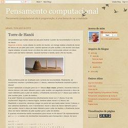 Pensamento computacional: Torre de Hanói