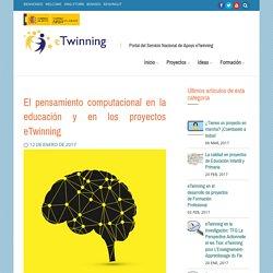 El pensamiento computacional en los proyectos eTwinning