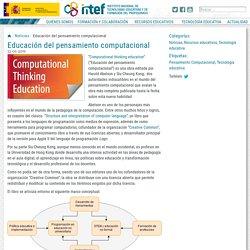 Educación del pensamiento computacional