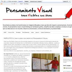 Pensamiento Visual Thinking y Facilitación Gráfica: PAPELOTES o, dar clases con apoyo de Pensamiento Visual