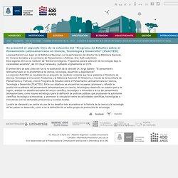 """Se presentó el segundo libro de la colección del """"Programa de Estudios sobre el Pensamiento Latinoamericano en Ciencia, Tecnología y Desarrollo"""" (PLACTED) — Universidad Nacional de Córdoba"""
