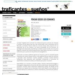PENSAR DESDE LOS COMUNES
