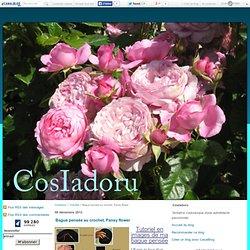 Bague pensée au crochet, Pansy flower - CosIadoru