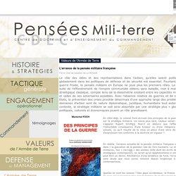 CDEC - Pensées Mili-Terre - L'errance de la pensée militaire française
