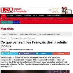 Ce que pensent les Français des produits locaux - Produits locaux