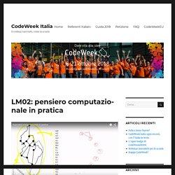 LM02: pensiero computazionale in pratica