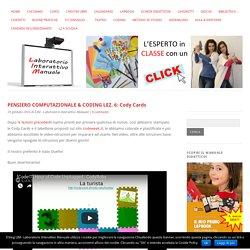 PENSIERO COMPUTAZIONALE & CODING LEZ. 6: Cody Cards