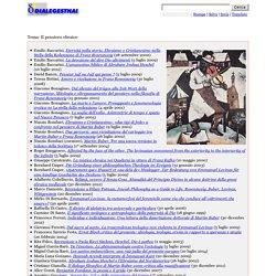 Tema: Il pensiero ebraico (Dialegesthai)