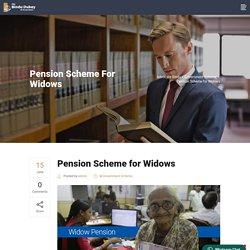 Pension Scheme for Widows - Advocate Bindu
