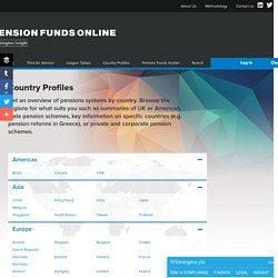 Pension system across the world - Pension Funds Online
