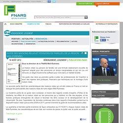 Guide des maisons relais et pensions de familles, de la région Midi-Pyrénées