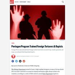 Pentagon Program Trained Foreign Torturers & Rapists