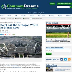 Pentagon Unable To Be Audited
