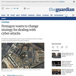 Pentagon wants to change strategy for dealing with cyber-attacks