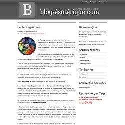 Symboles : le pentagramme