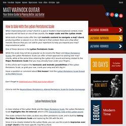 MATT WARNOCK GUITAR