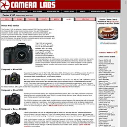 Pentax K10D full review Cameralabs verdict