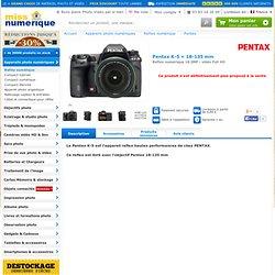 Pentax K-5 + 18-135 mm à prix discount