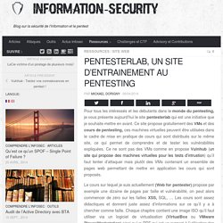 Pentesterlab, un site d'entrainement au pentesting - Information Security
