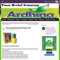 Penumbuh Rambut Firdaus Oil » Toko Herbal Semarang
