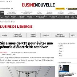 20161108 - six-armes-de-rte-pour-eviter-une-penurie-d-electricite-cet-hiver