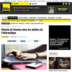 Pénurie de femmes dans les métiers de l'informatique