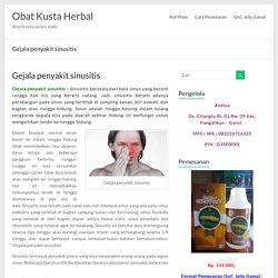 Pengobatan herbal dan alami penyakit sinusitis