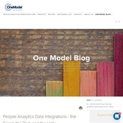 People Analytics Data Integrations - the Good, the Bad, and the Ugly