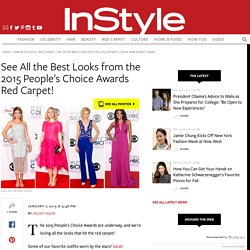 People's Choice Awards 2015: Best of the Red Carpet