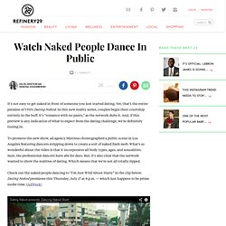 Naked People Dancing Los Angeles - Reality TV Shows VH1