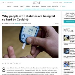 Why people with diabetes are being hit so hard by Covid-19