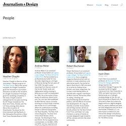 Journalism + Design