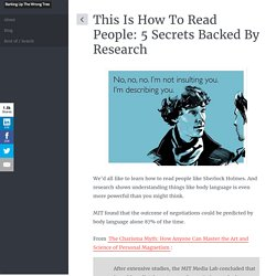 This Is How To Read People: 5 Secrets Backed By Research