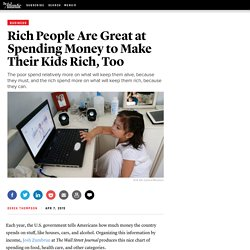 How Rich People Spend Money — Atlantic Mobile