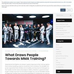 What Draws People Towards MMA Training? - Hybrid MMA & Fitness