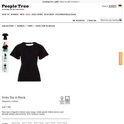 Neda Top in Black