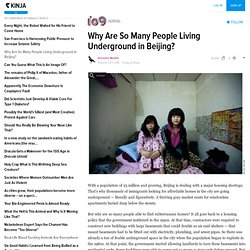 Why Are So Many People Living Underground in Beijing?
