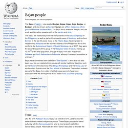 Bajau people