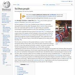 Tai Dam people