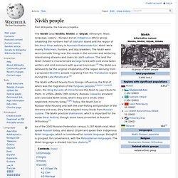 Nivkh people