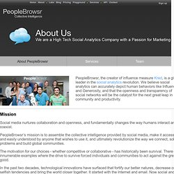 About PeopleBrowsr