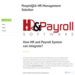 Outstanding HR & Payroll Software