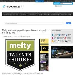 Melty lance une pépinière pour booster les projets des 18-30 ans