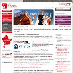 """""""Pépites"""" du Grand Lyon : 4 entreprises lauréates de la 6e vague de l'appel à projets"""