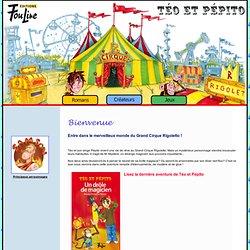 Téo et Pépito : Bienvenue sur notre site Internet