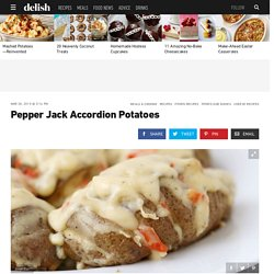 Pepper Jack Accordion Potatoes Recipe