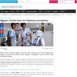 Pepper s'invite dans les hôpitaux européens