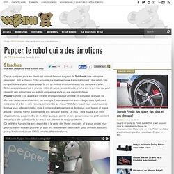 Pepper, le robot qui a des émotions - w3sh.com